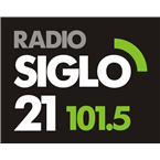 Siglo 21 FM 101.5 FM Uruguay, Salto