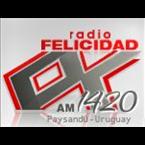 Radio Felicidad 1420 AM Uruguay, Paysandú