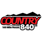 Country 840 840 AM Canada, 100 Mile House