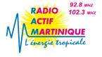 Radio Actif Martinique 102.4 FM Martinique, Fort-de-France