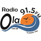 La Ola 91.5 FM 91.5 FM Mexico, Tuxpan