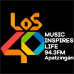 Los 40 Apatzingán 94.3 FM Mexico, Apatzingan de la Constitucion