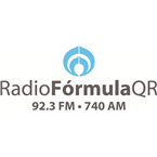 Radio Fórmula QR 740 AM Mexico, Cancún