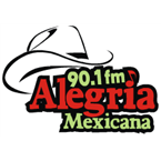 Alegria Mexicana 90.1 FM Mexico, La Paz