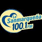 La Sanmarqueña 100.1 FM Mexico, Aguascalientes