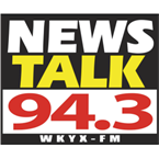 WKYX 94.3 FM United States of America, Golconda