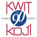 KWIT KOJI Siouxland Public Media 90.7 FM USA, Okoboji