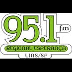 Rádio Regional Esperança FM 95.1 FM Brazil, Lins