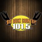Big Buck Country 101.5 101.5 FM USA, Huntington