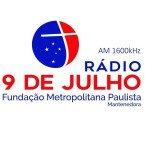 Radio 9 de Julho 1600 AM Brazil, São Paulo