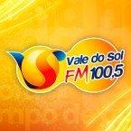 Radio Vale do Sol FM 100.5 FM Brazil, Curitiba