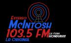 Estereo McIntosh 103.5 FM Honduras, La Ceiba