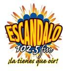 Escándalo 102.5 FM 107.3 FM Dominican Republic, Santo Domingo