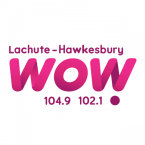 WOW 104.9 - 102.1 104.9 FM Canada, Lachute
