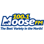 100 1 The Moose FM 100.1 FM Canada, Hay River