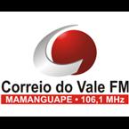 Rádio Correio do Vale FM 106.1 FM Brazil, João Pessoa