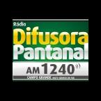 Rádio Difusora Pantanal AM 1240 AM Brazil, Campo Grande