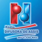 Rádio Difusora de Assis 1140 AM Brazil, Assis