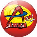 Rádio Ativa FM 104.9 FM Brazil, São José do Rio Preto
