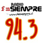 Radio fmSiempre 94.3 FM Chile, Valdivia