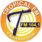 Rádio Tropical FM 104.1 FM Brazil, Araras