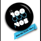 La 100 Mar del Plata 106.3 FM Argentina, Mar del Plata