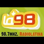 La 98 RadioLatina FM   Argentina, Córdoba
