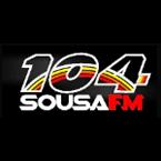 Rádio Sousa 104 FM 104.3 FM Brazil, João Pessoa