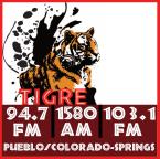 Tigre FM 104.9 FM USA, Pueblo