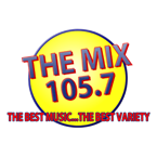 The Mix 105.7 105.7 FM USA, Dickinson