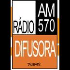 Rádio Difusora 570 AM Brazil, São José dos Campos