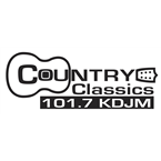 Real Country 101.7 101.7 FM USA, Salina-Manhattan