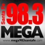 MEGA 98.3 SANTA FE 98.3 FM Argentina, Santa Fe Do Sul