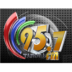 Rádio Tarobá FM 95.7 FM Brazil, Cascavel