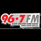Greater Hume Radio 96.7 FM Australia, Albury