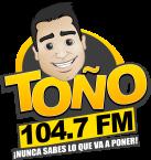 Toño 104.7 FM 104.9 FM Mexico, Tijuana